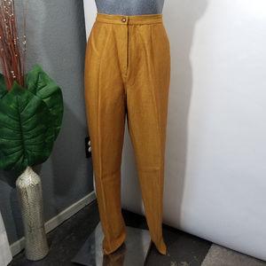 Vintage Pants High Waist Tan Size 6
